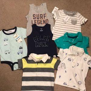 6 mo + Baby boy lot (7 items)